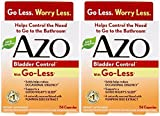 AZO Bladder Control, 54 Capsules (2 Pack) by AZO
