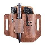 Cyelee EDC Leather Pocket Organizer, Belt...