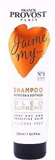Franck Provost Unisex J'aime My Oleo Supreme Nutrition & Softness Shampoo, 300 ml
