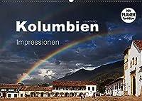 Kolumbien Impressionen (Wandkalender 2022 DIN A2 quer): Die Highlights Kolumbiens in beeindruckenden Bildern. (Geburtstagskalender, 14 Seiten )