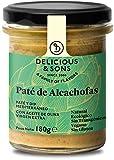 Delicious & Sons Paté de Alcachofas Ecológico 180g