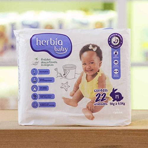 Fralda Descartável Ecológica Herbia Baby