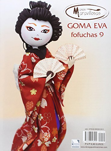 Goma Eva - Fofuchas 9 (Manos Maravillosos)