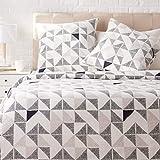 Amazon Basics - Juego de ropa de cama con funda de edredón, de satén, 260 x 240 cm / 65 x 65 cm x 2, Multicolor (Diamond Fusion)