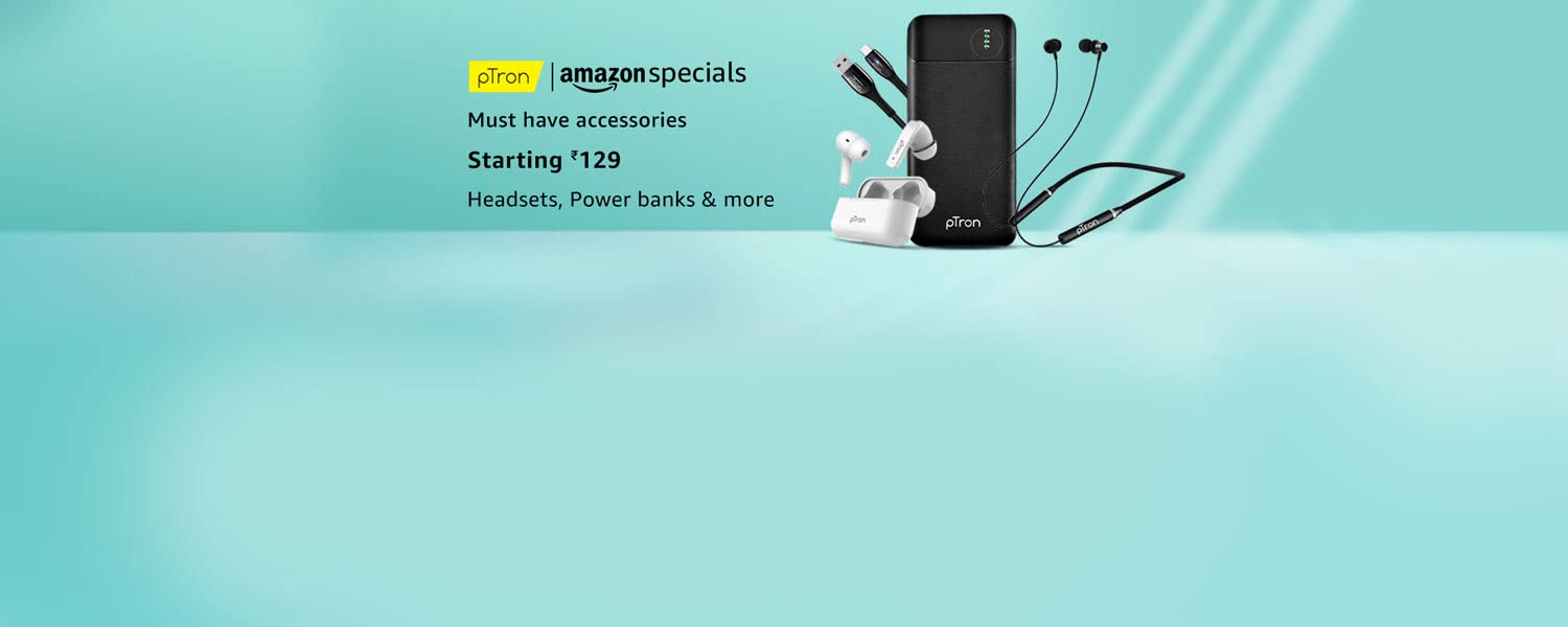 Amazon Offers Today-Coupons-Promo Codes - pTron Products starting at just ₹133