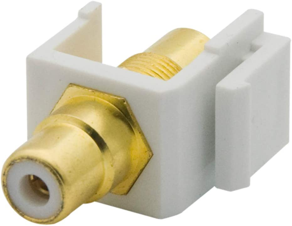 YinXiong 5-Pack Keystone RCA Large discharge sale AV 25% OFF Audio F Jack Adapter to Female