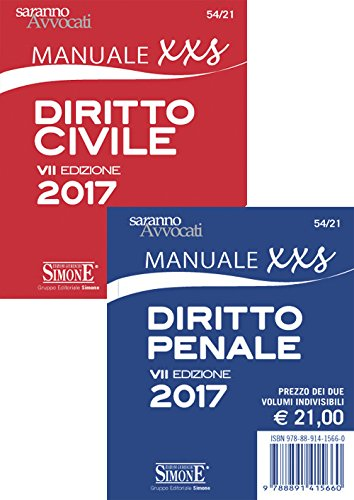 Diritto civile. Manuale XXS-Diritto penale. Manuale XXS