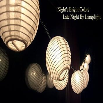 Late Night By Lamplight
