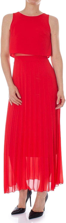 Rinascimento Women's CFC0092533003RED Red Polyester Dress