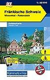 Fränkische Schweiz Outdoorkarte Deutschland Nr. 37: Wiesenttal, Pottenstein, 1:35 000, Mit kostenlosem Download für Smartphone (Kümmerly+Frey Outdoorkarten Deutschland)