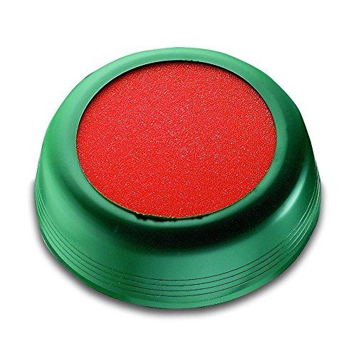 Läufer 70711umettatore per buste e francobolli elastica–Impugnatura, diametro 85mm, verde