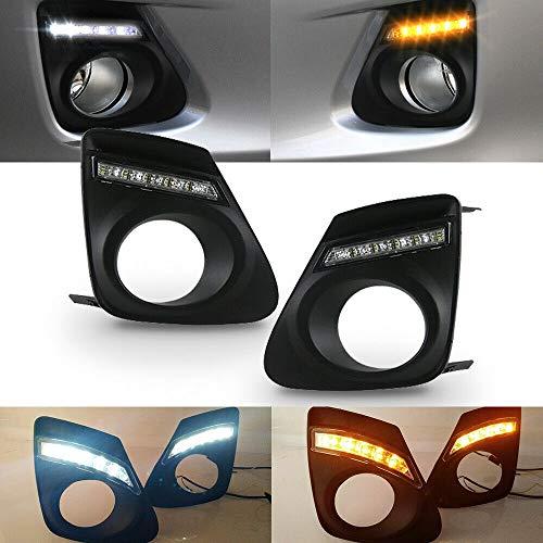 Daytime Running Light, Car LED DRL Daytime Running Light High Brightness Fit for Toyota Corolla Altis 2010-2013