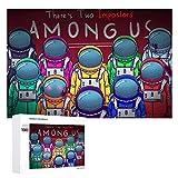 Mengghy Amon-g Us - Puzzle de 1000 piezas para adultos (1000 piezas)