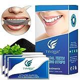 Charcoal Teeth Whitening Strips, Tansmile White Whitestrips Dental...