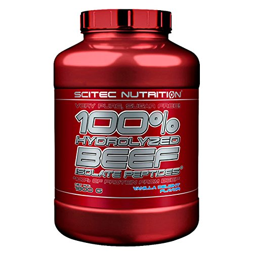 SCITEC Nutrition 100% Hydrolyzed Beef Peptides - 1,8 kg Almond Chocolate