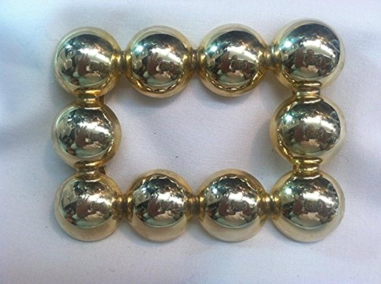 Designer Belt Buckle Slider for Women Plated 14 kt. Gold Polished 2