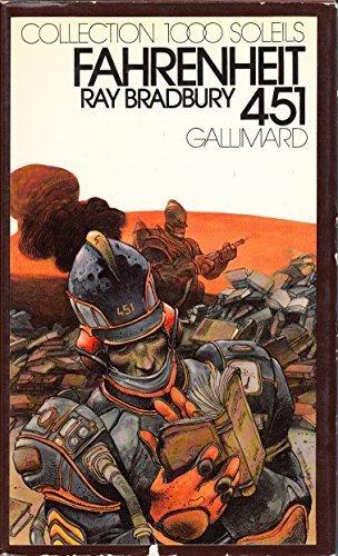 Fahrenheit 451 Collection 1000 soleils Gallimard Couverture de Bilal