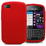 Accessory Master 5055716367065 Silikon Gel Tasche für BlackBerry Q10 lila