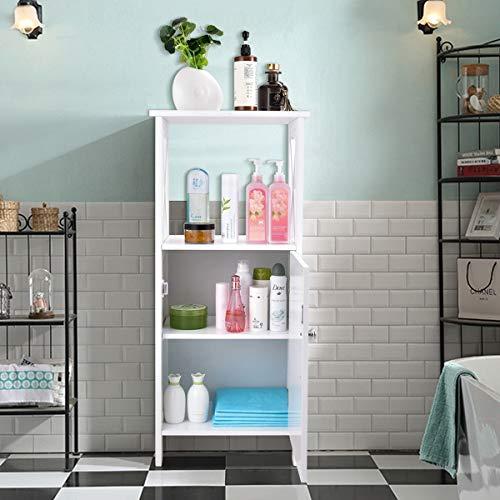 Why Choose Living Room Bedroom Kitchen Bathroom Furniture Elegant Decor Floor Sturdy White Wood Cabi...