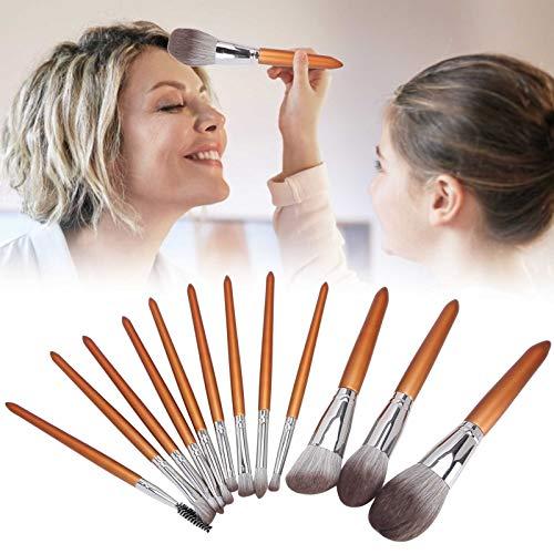 Schoonheidsborstel set, oogschaduw make-up kwasten kit, elegante verschijning foundation poeder 12 stuks make-up ons gezicht make-up kwasten kit voor highlights make-up