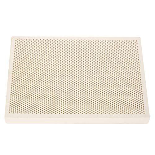 Keramische soldeerplaat, plaatkeramische tegels Vuurvast gelaste plaat Sieradenverwerkingsgereedschap Gouden gereedschappen Sieradenapparatuur Sieraden Verwarming Verfdruk Drogen Gereedschapsplaat