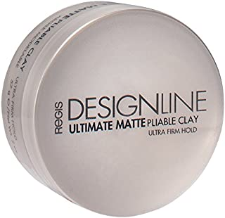 Ultimate Matte Pliable Clay, 2 oz - Regis DESIGNLINE - Provides Serious Texture, Movement, and Definition with a Flexible Hold for All Hair Styles