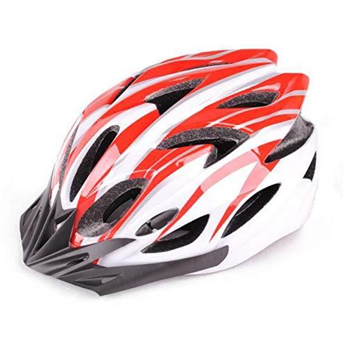 lefeindgdi Casco de ciclo, ligero Allround para bicicleta, ajustable, para adultos, para hombres y mujeres