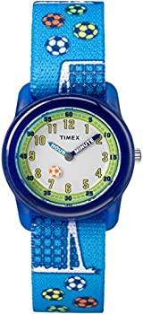Timex Time Machines Analog Elastic Fabric Strap Boy's Watch
