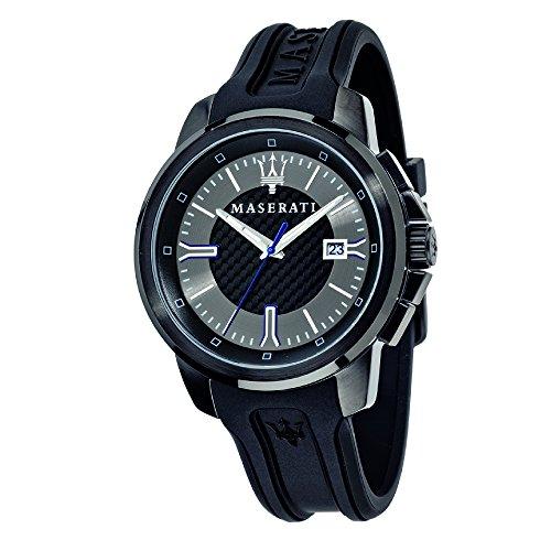 Orologio da uomo, Collezione SFIDA, in acciaio, silicone - R8851123004