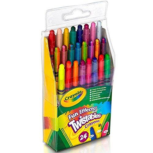 CRAYOLA 24 CT Twistables Fun Effect Crayons