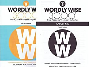 Wordly Wise 3000 Fourth Edition Student Edition + Answer Key Set Grade 5