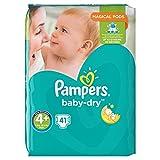 Pampers Baby-Dry Pannolini Taglia 49–18kg + 41pezzi