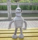 changshuo Juguete de Peluche Película Dolls Bender Soft Mascot 13.7 '' Anime Relleno Y Peluche De Juguete