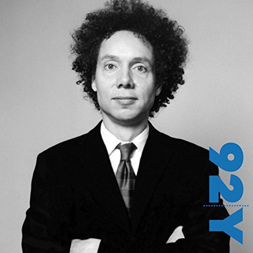 Malcolm Gladwell with Robert Krulwich at the 92nd Street Y audiobook cover art