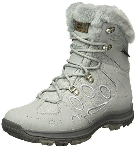 Jack Wolfskin Damen Thunder Bay Texapore MID W Trekking-& Wanderstiefel, Grau (Alloy 6038), 42.5 EU