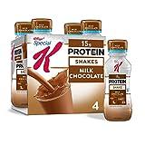 Special K Protein Shakes, Milk Chocolate, Gluten Free, 10 fl oz Bottles (4 Count)