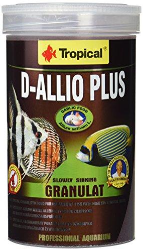 Tropical D-Allio Plus Granulat Futter mit Knoblauch, 1er Pack (1 x 1 l)