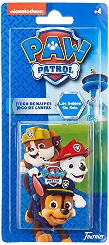 Patrulla Canina- Paw Patrol Baraja Infantil, Multicolor (Naipes Heraclio Fournier 1034794)