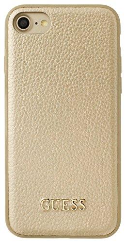 Guess GUHCP7IGLGO Iridescent Collection Hart Schutzhülle für Apple iPhone 7 Gold