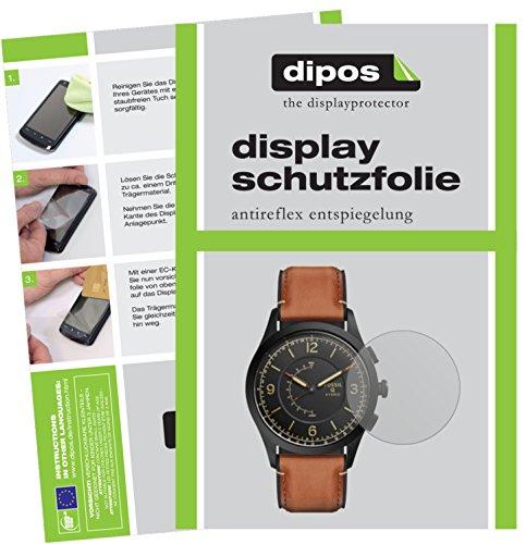 dipos I 6X Schutzfolie matt kompatibel mit Fossil Q Activist Folie Bildschirmschutzfolie