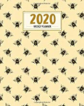 2020 Weekly Planner: Bumble Bee A4 Desk Planner, Diary & Organizer with To-Do List and Weekly View (Rocket Studio Bee Planners)