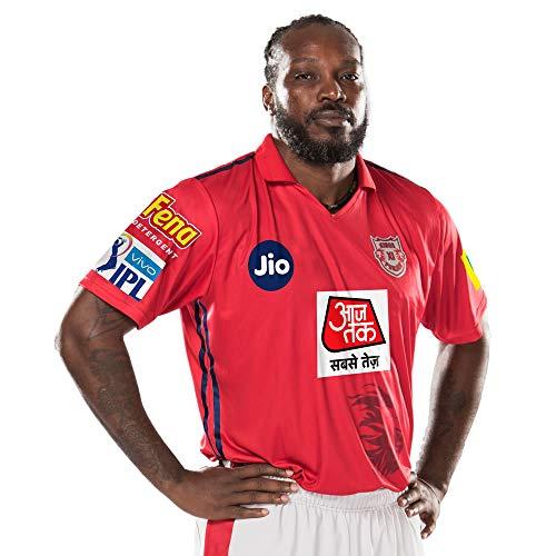 KXIP Offizielles Kings XI Punjab 2019 Vivo IPL Spieler Trikot, xxl