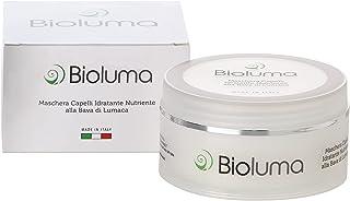 Bioluma Bava di Lumaca Maschera Capelli Ristrutturante Idratante Nutriente Capelli Secchi Grassi Sfibrati Disidratati con ...