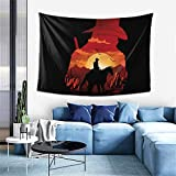 YIEASY Red Dead Redemption 2 Tapestry Wall Hanging Art Home Decoration for Ceiling Living Room Dorm Bedroom Kitchen,40 X 60inch/102 X 152cm