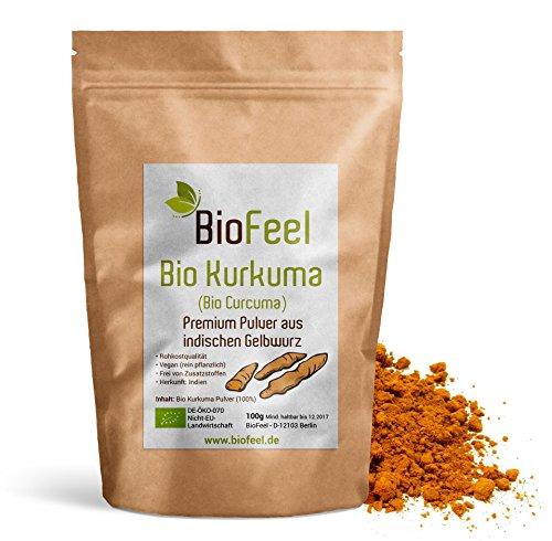 BioFeel - Bio Kurkuma Pulver, 100g