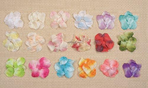rackcrafts.com Rose Flower Petals Wedding Anniversary Garden Silk Polyester (Mauve Dusty Rose) Silk Flower Arrangements