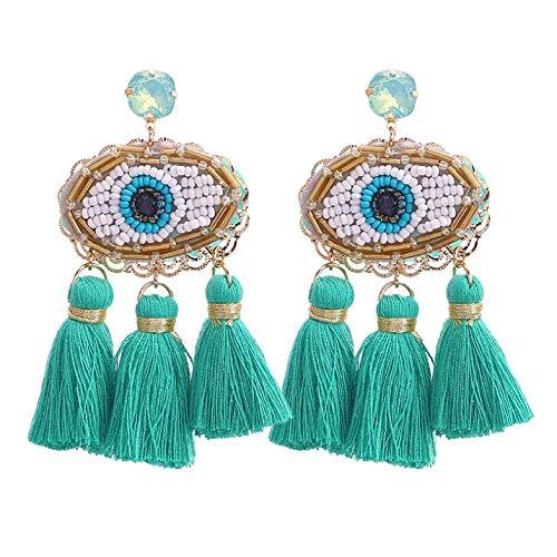 Neue Design Quaste Mode Ohrringe Hochzeit Augentropfen Ohrringe Für Frauen Boho Elegante Partei Ohrringe Baumeln Schmuck