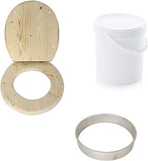 Kit Complet pour fabriquer sa Toilette sèche en Bois - kit pour autoconstructeur