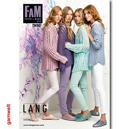 Lang Yarns Fatto a Mano 219Sommer Buch 2015Twins
