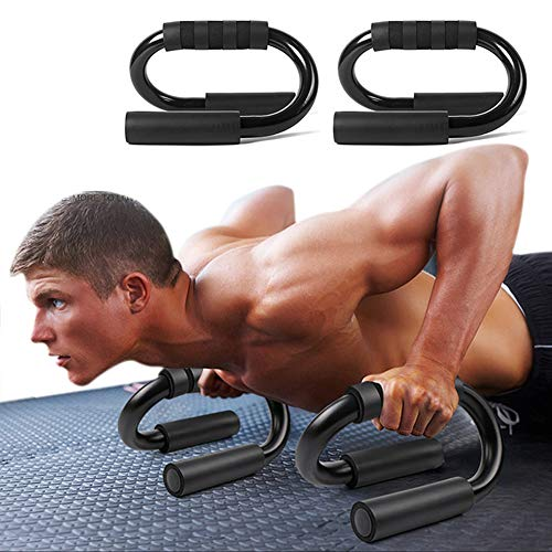 LXLJ Body Building Equipment Push Up Bar Pushup Stands Grip Home Gym Training Fitness Equipments S-Type Push-up Bracket